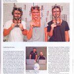 """Jornal """"O Globo"""" - Matéria sobre ex-alunos Puc-Rio e um dos projetos já expostos na Semana Design"""