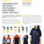 saboreando um novo vestuário - uniforme para hostels